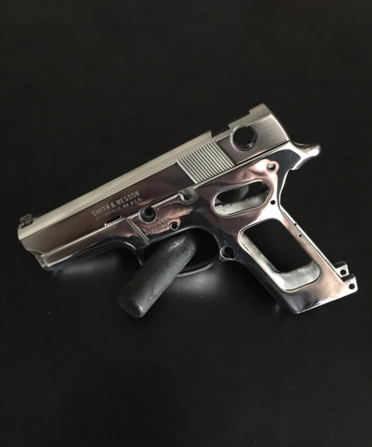 Completed restoration of a Smith & Wesson Frame