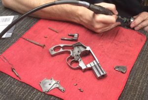 Cleaning a Smith & Wesson revolver