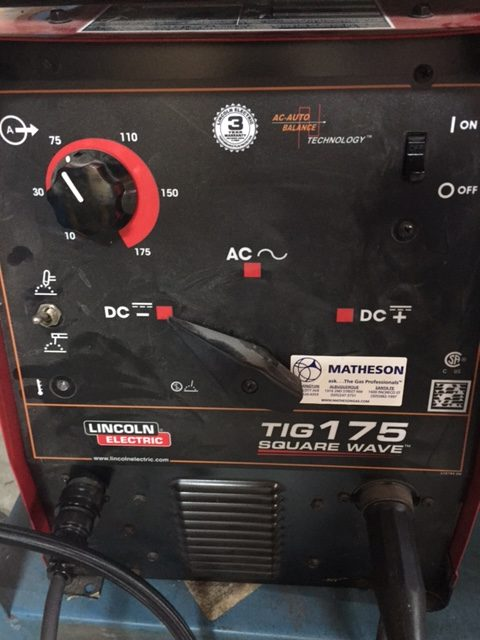 Lincoln Electric tig and stick welding machine