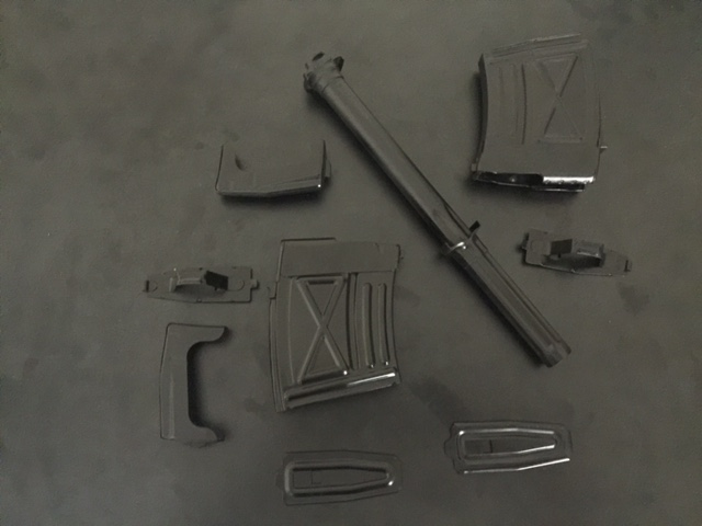 Random gun parts cerakoted