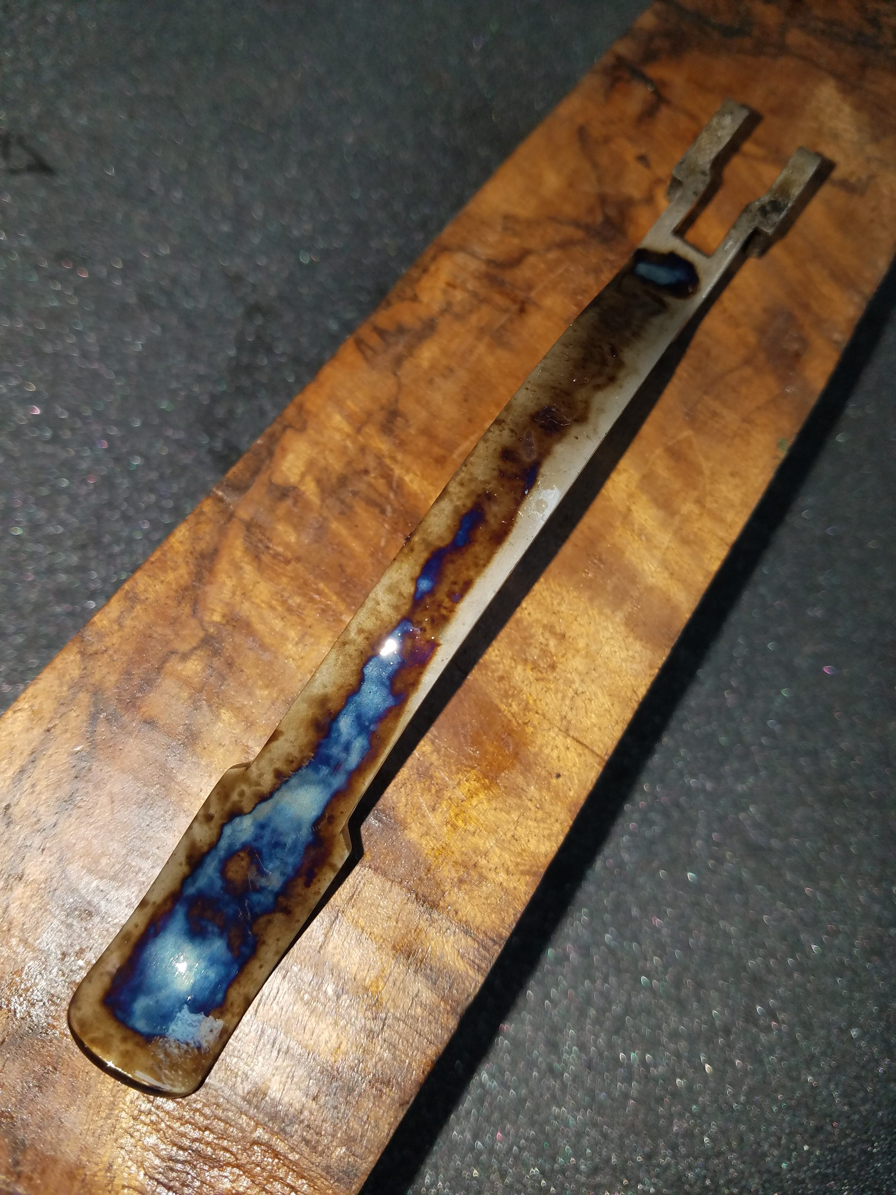 BSA Martini Lever for 22 long Rifle that was Color Case