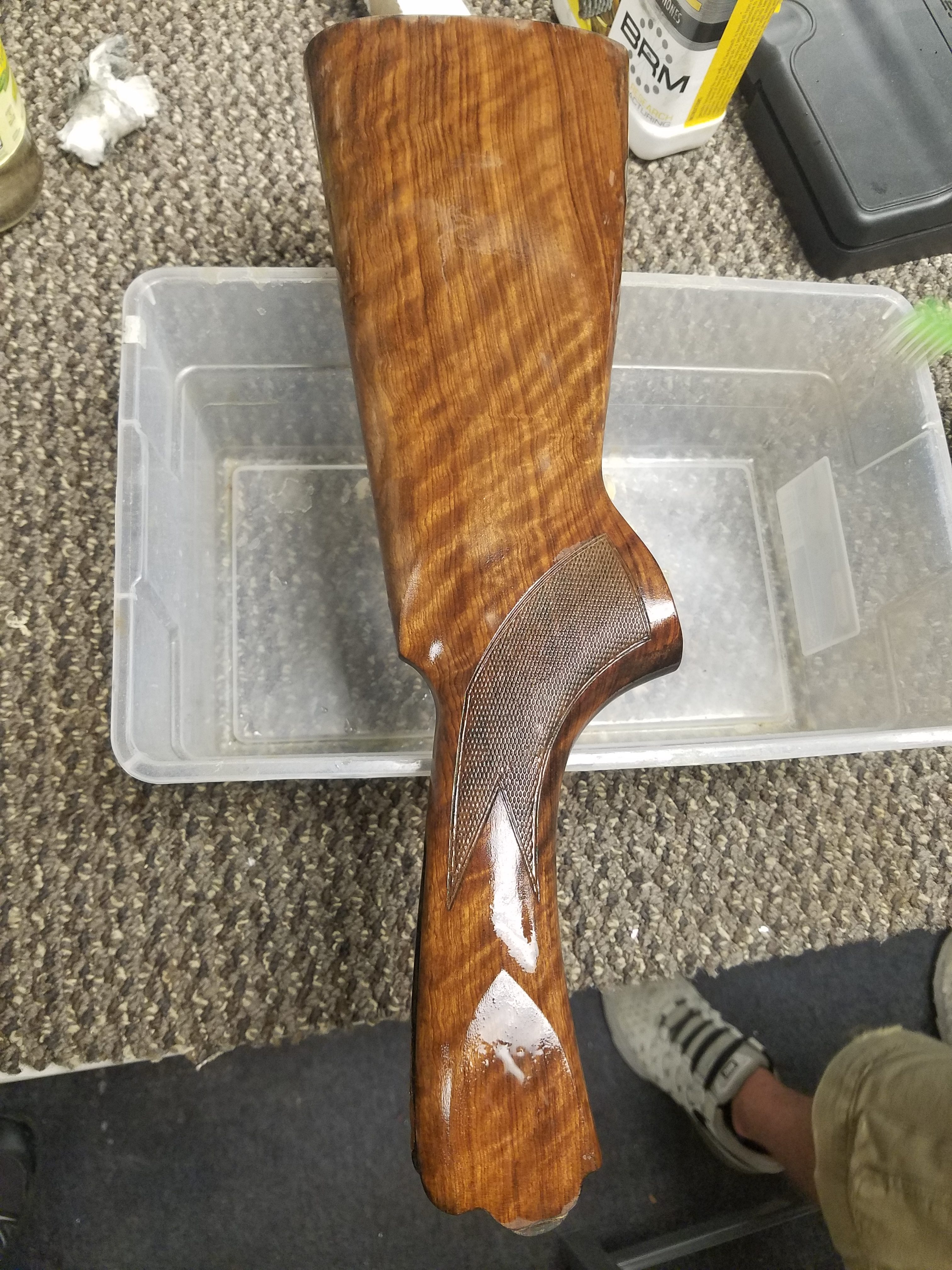 Completed flood damage repair to Beretta 686
