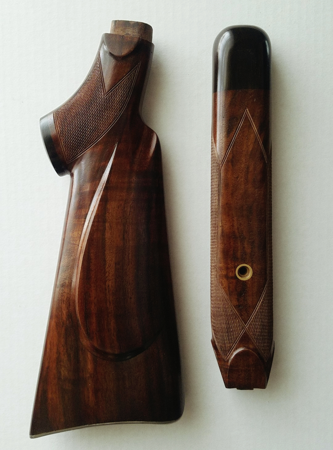 Custom made Martini Stock and Forend for 22 long rifle