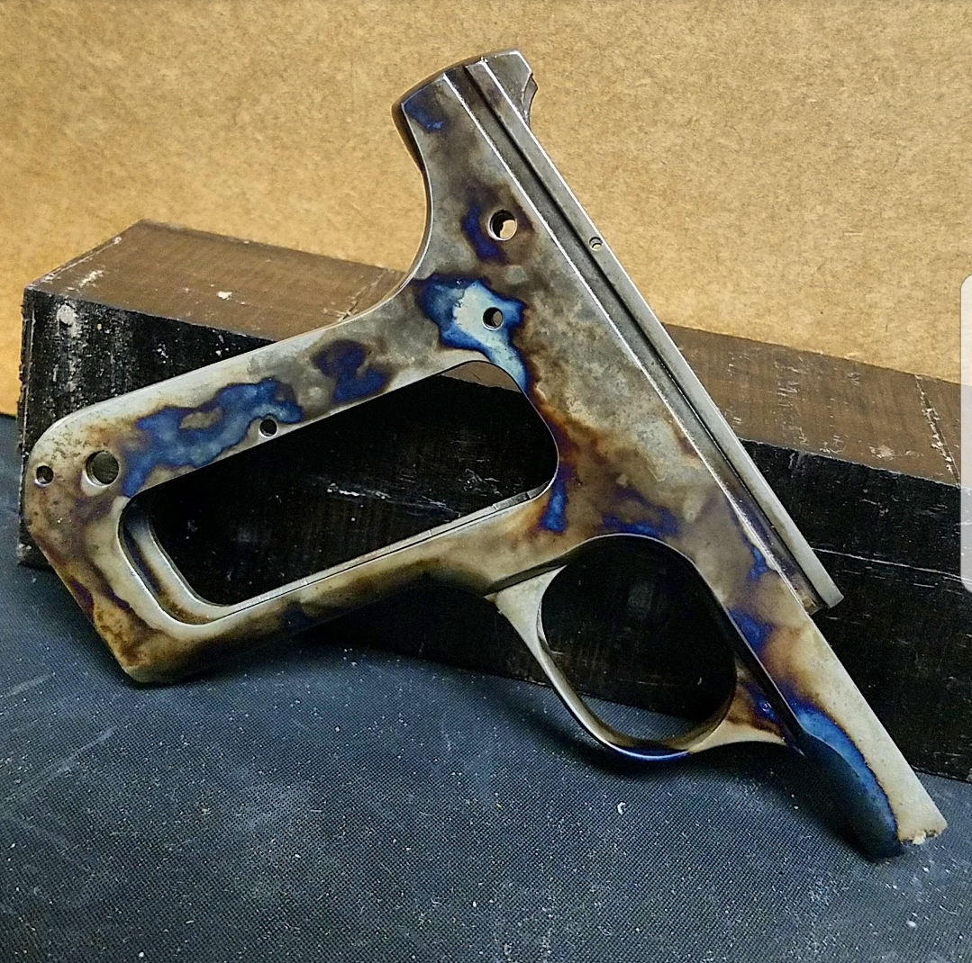 Frame of a Colt 1903 color cased