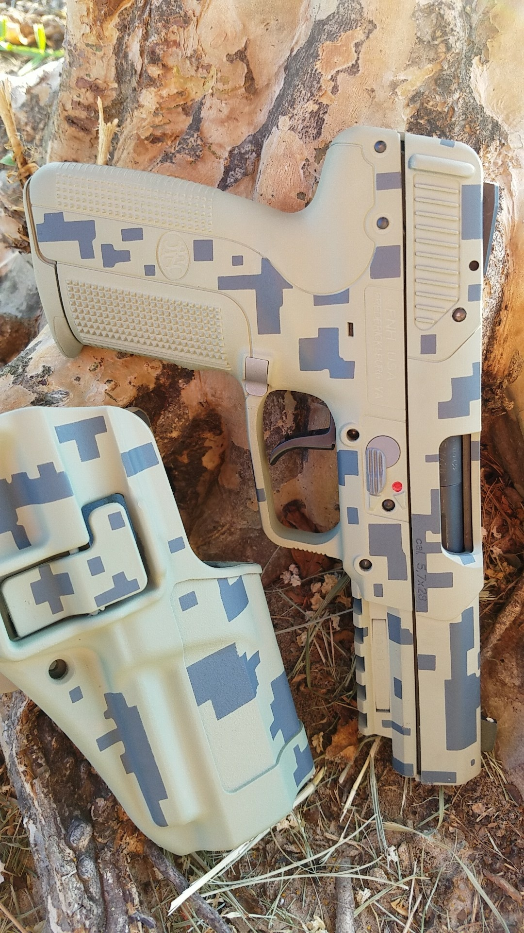 cerakote digital camo tan and black