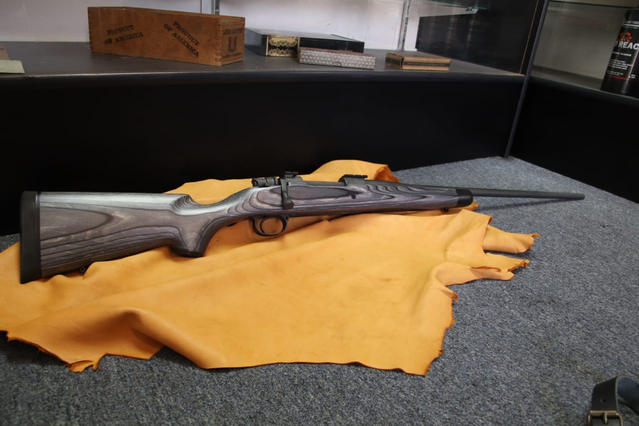 Mauser action in 270 caliber, Shilen barrel and Boyd's stock