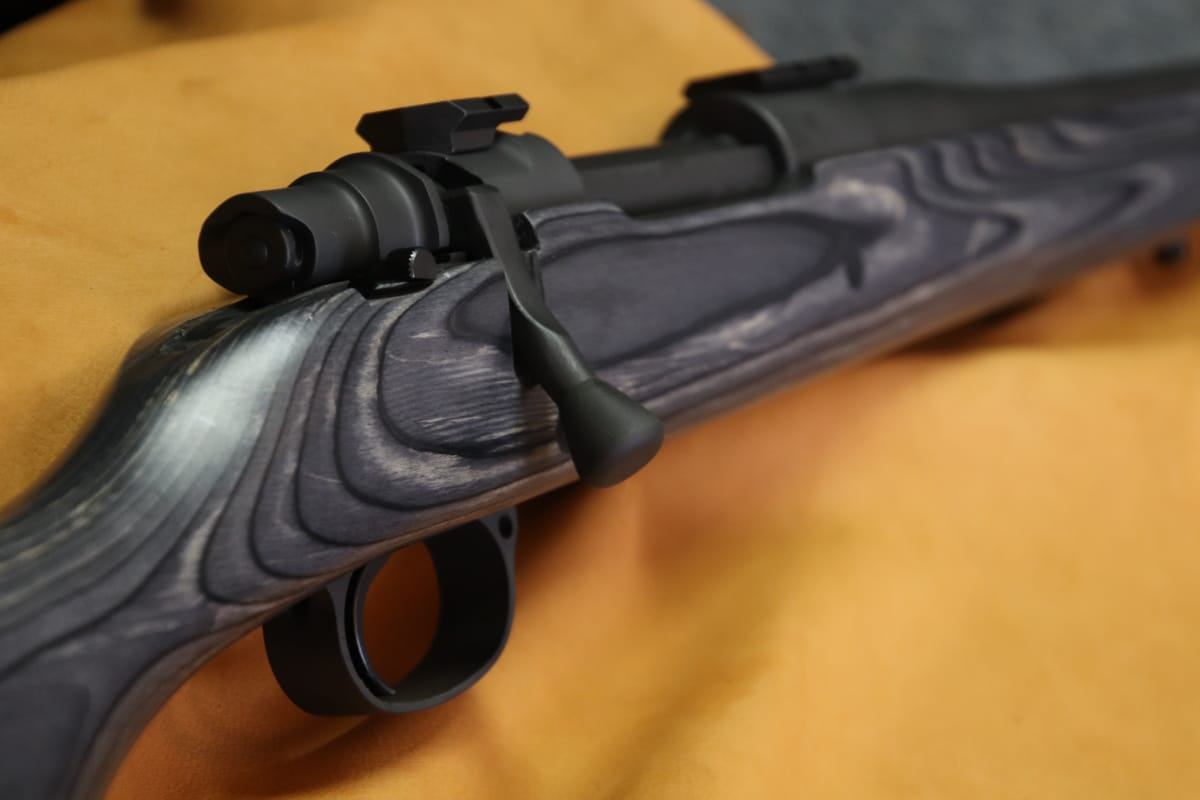Mauser action chambered in 270 caliber, with a Shilen barrel and Boyd's stock, Lohman bolt Handle