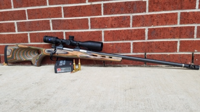 Built this Winchester model 70 custom build with proof research barrel in 270 wsm